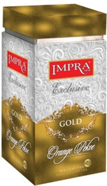 Чёрный чай IMPRA GOLD Orange Pekoe Box 200г