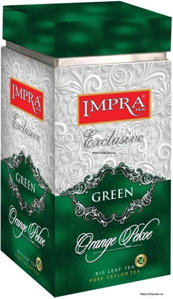 Зелёный чай IMPRA GREEN Orange Pekoe Box 200г