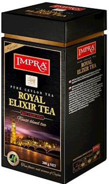 Чёрный чай IMPRA ROYAL ELIXIR TEA Box 200г