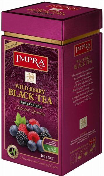 Чёрный чай IMPRA WILDBERRY BLACK TEA Box 200г