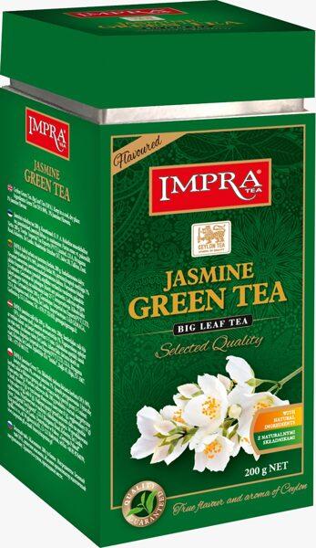 Зелёный чай IMPRA JASMINE GREEN TEA Box 200г