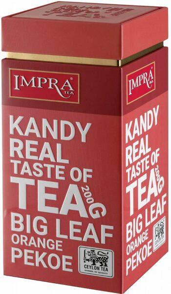 Чёрный чай IMPRA KANDY Orange Pekoe Box 200г