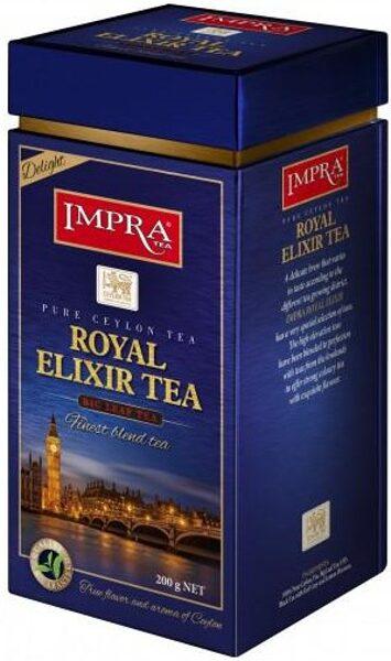 Чёрный чай IMPRA ROYAL ELIXIR TEA - Delight Box 200г