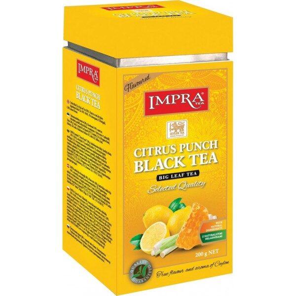 Чёрный чай IMPRA CITRUS PUNCH BLACK TEA Box 200г